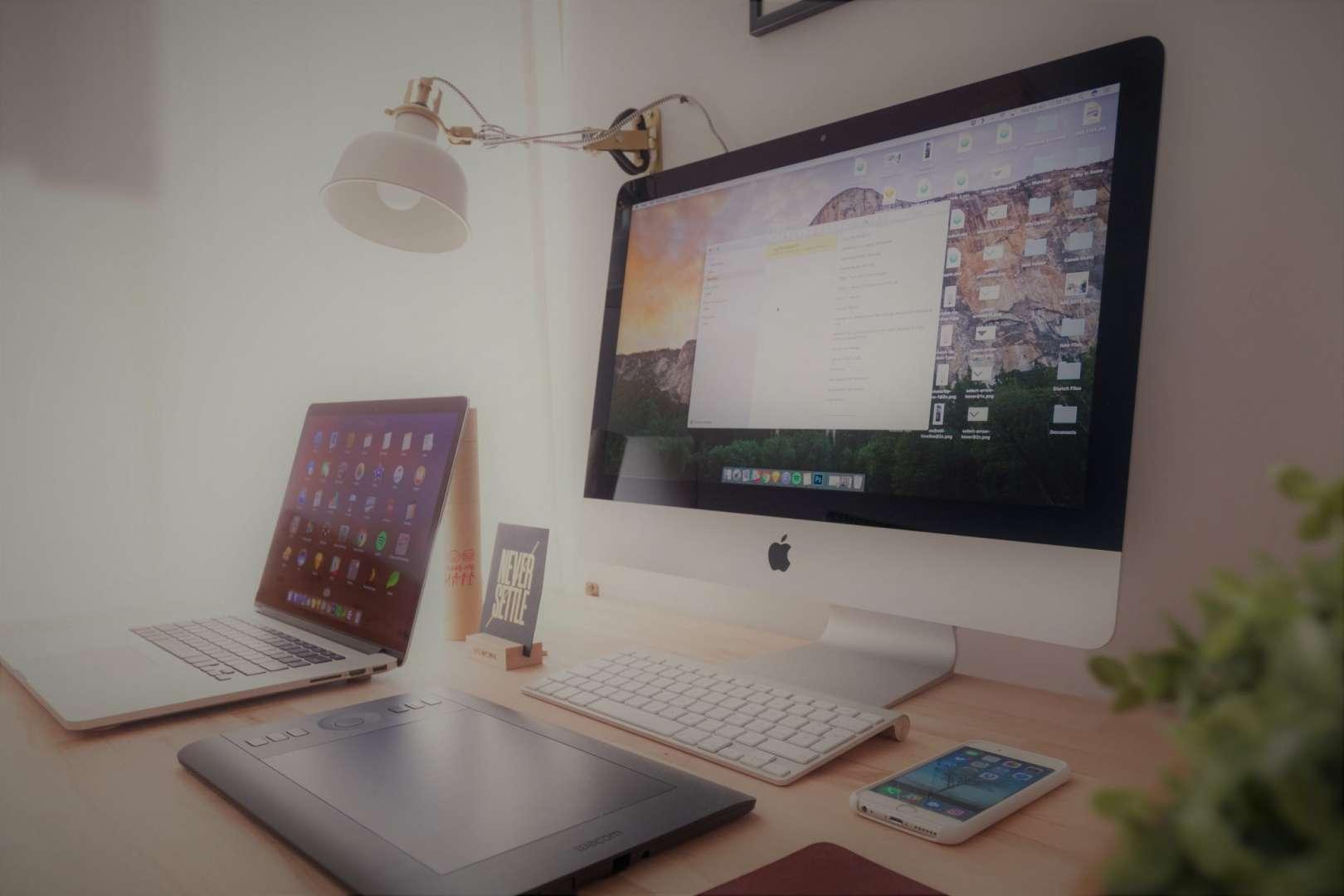 Tour Operator Software Running on an iMac