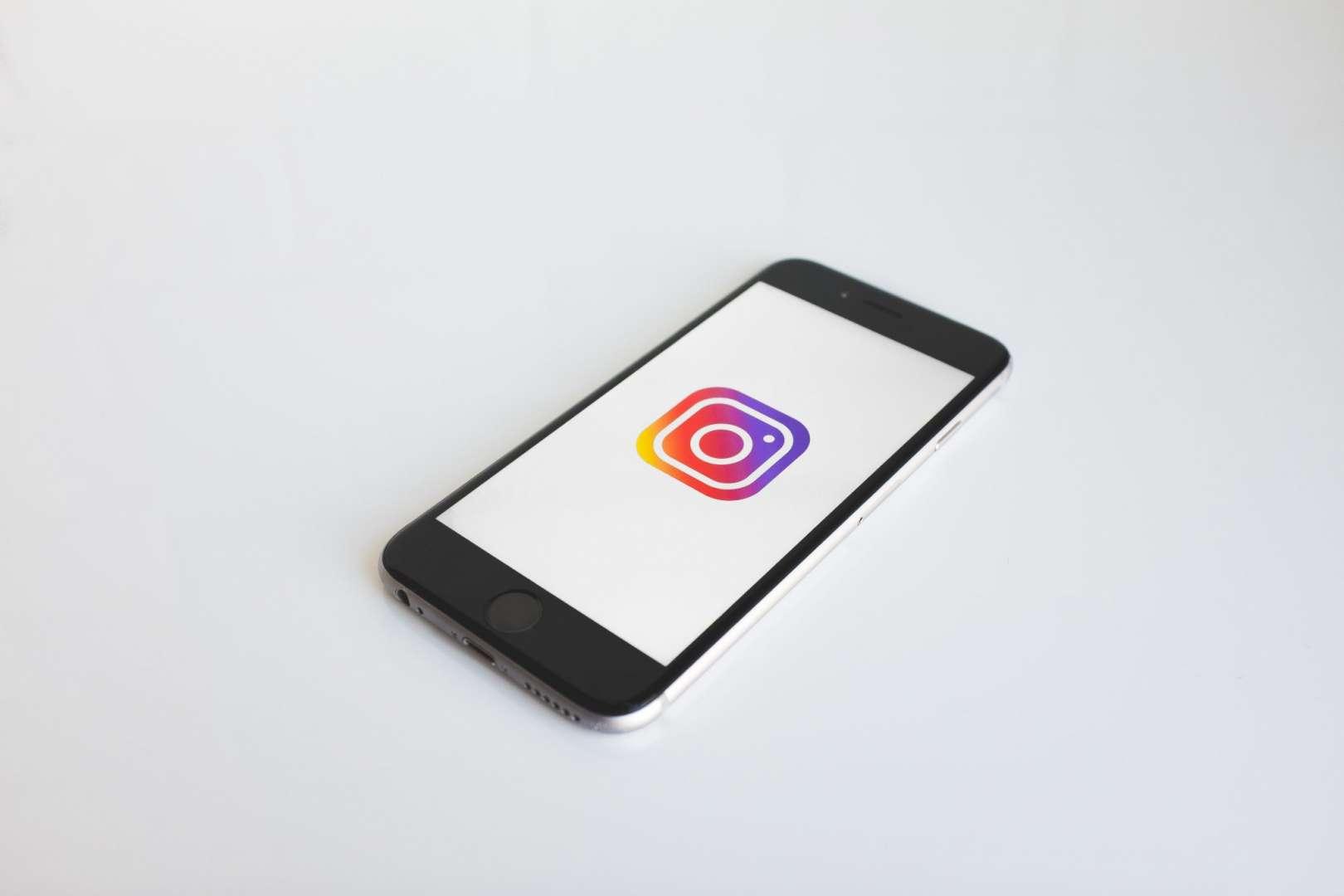 Phone Running Instagram Social Media
