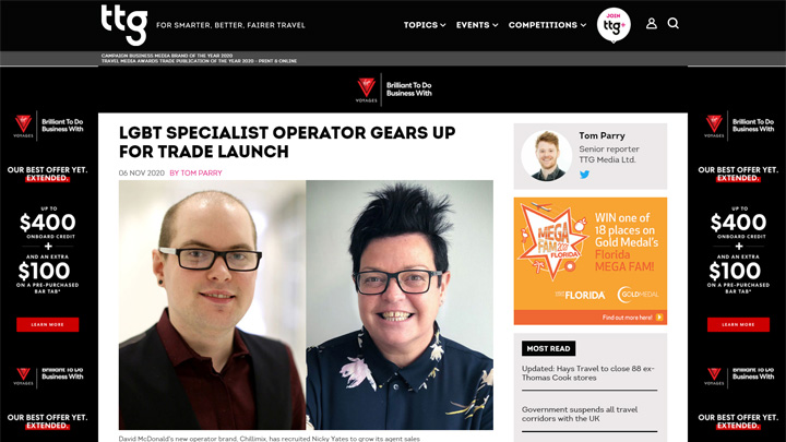 LGBT Specialists Gears Up for Trade Launch