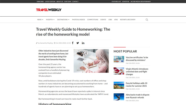 Guide To Homeworking – The Rise of The Homeworking Model