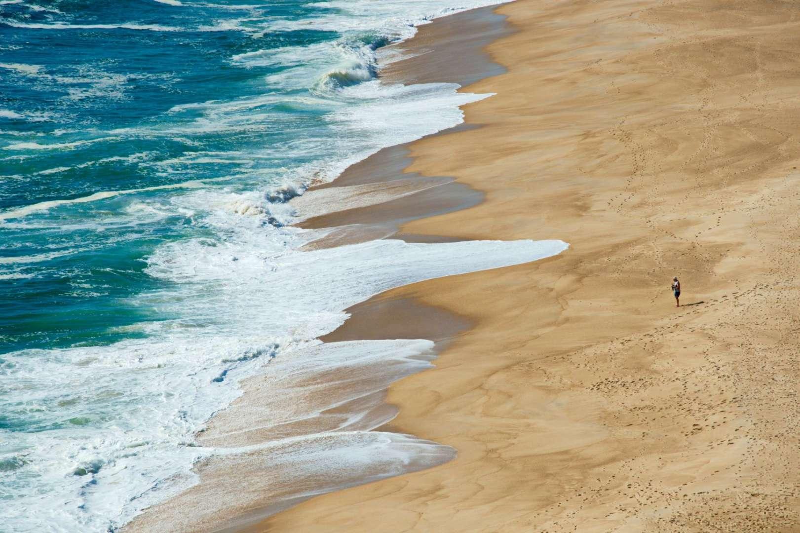 Reason to Visit Portugal - Nazare beach