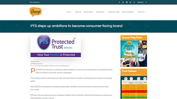 PTS Steps Up Ambitions To Become Consumer-Facing Brand