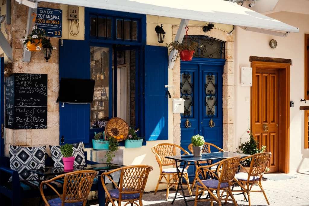 Small Cretan Cafe